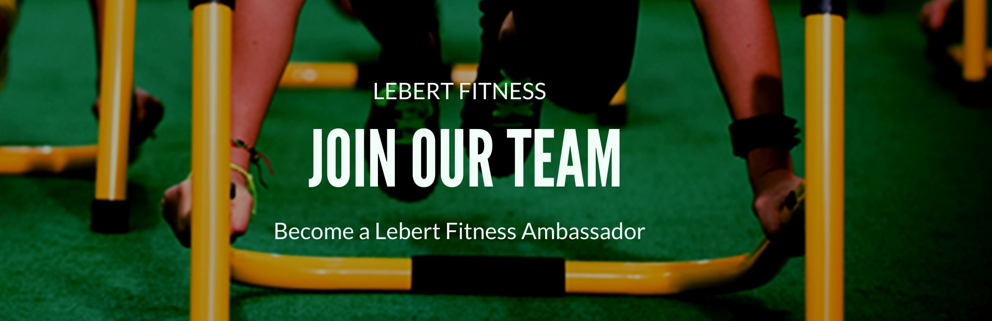 Join the Lebert Fitness Ambassador Program