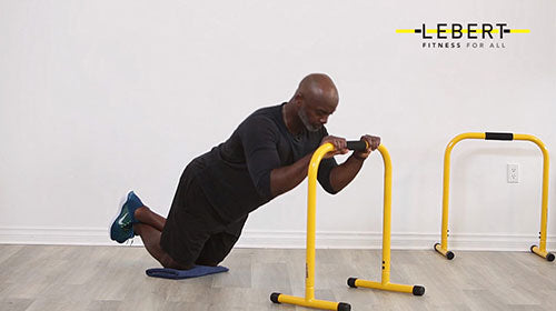EQualizer Kneeling Tricep Extension with Progression