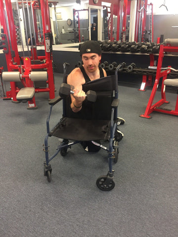 Handi Capable Fitness (HCF) was born from the inspiration of founder James Norris