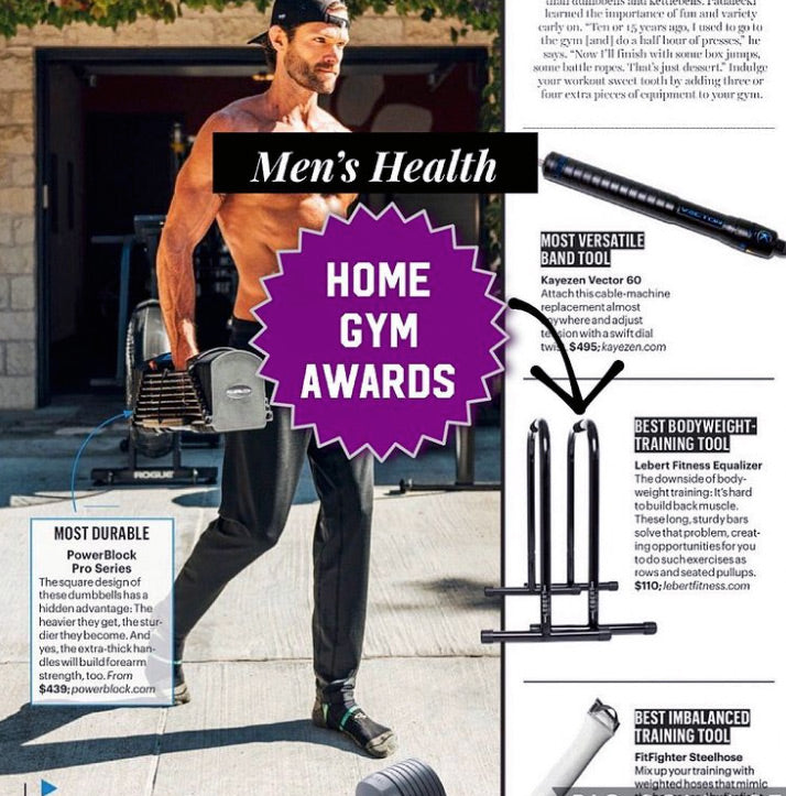 Lebert EQualizer wins 2021 Men's Health Home Gym Award