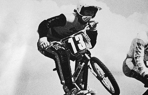 Todd in his BMX Racing days