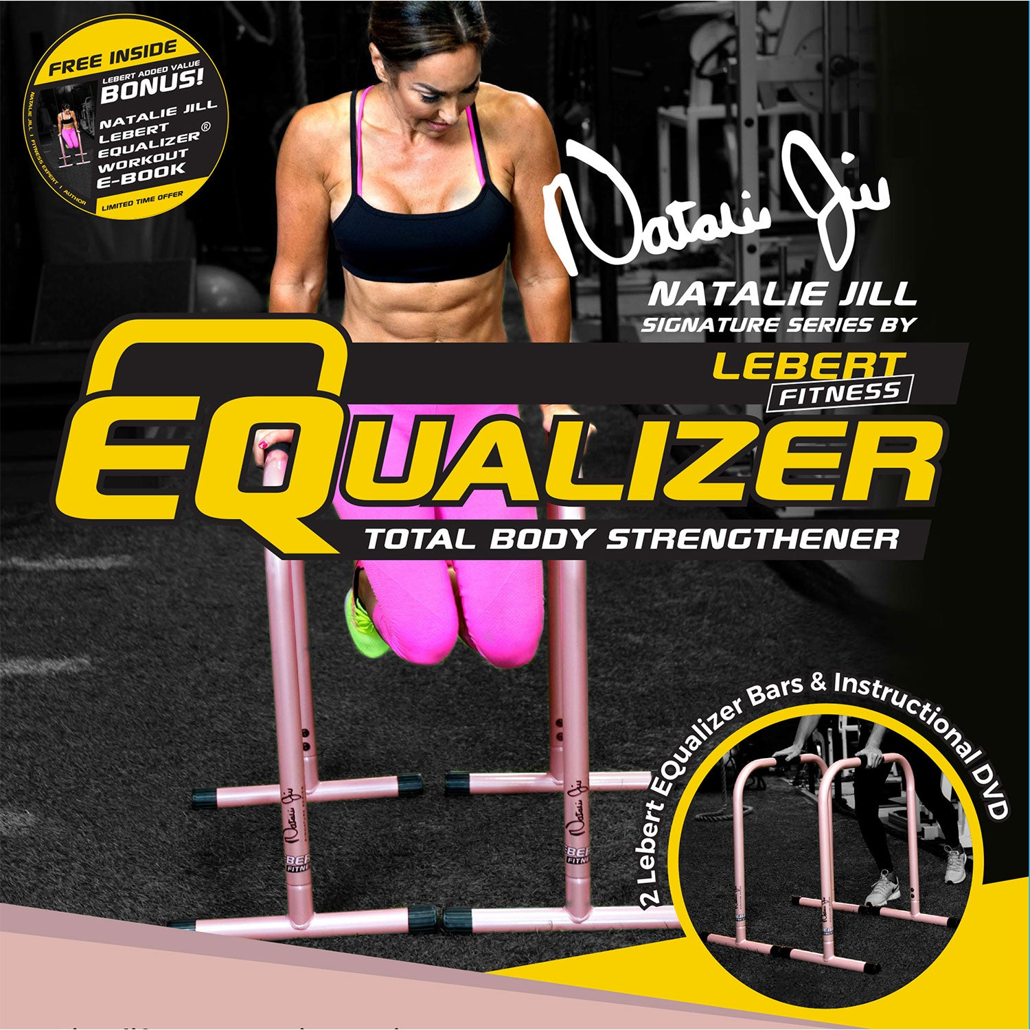 Natalie Jill Signature Series Rose Gold EQualizers