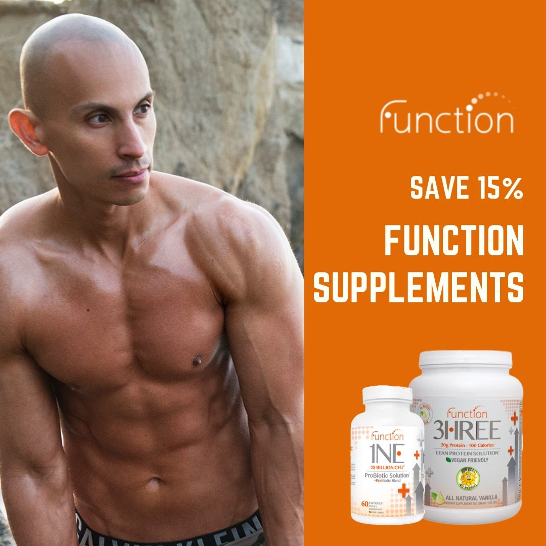 Save 15% off your first order of Function Supplements