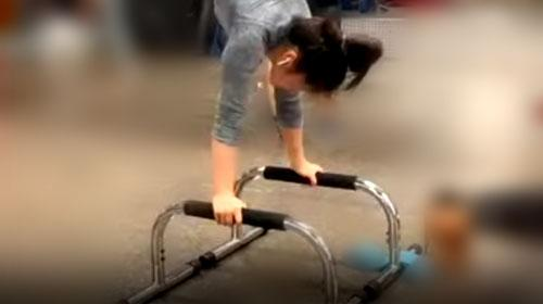 Handstand Push-Ups with Lebert Parallettes™