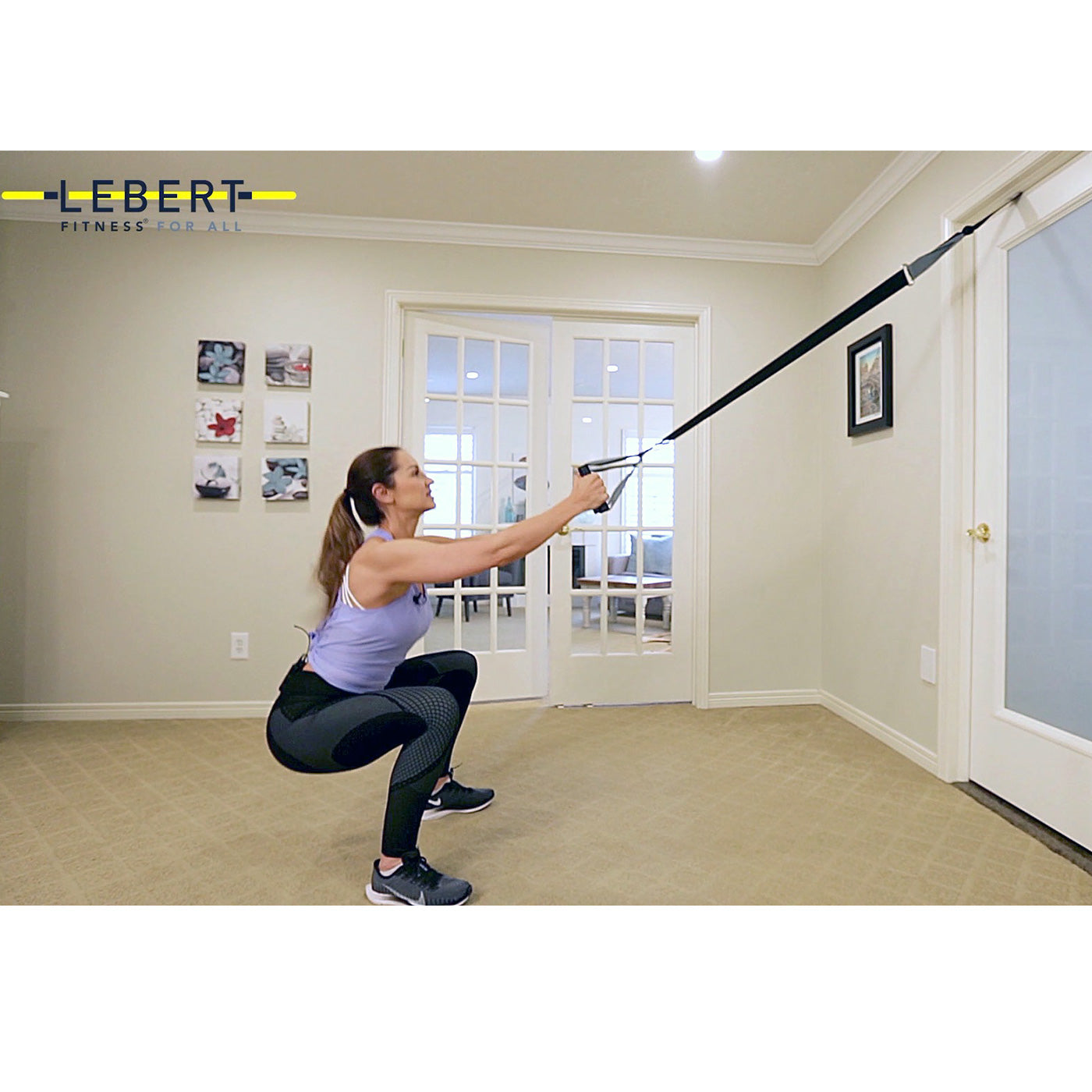 get stronger, and improve your VO2 max with the Lebert HIIT System!