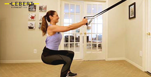 HIIT System Assisted Squats