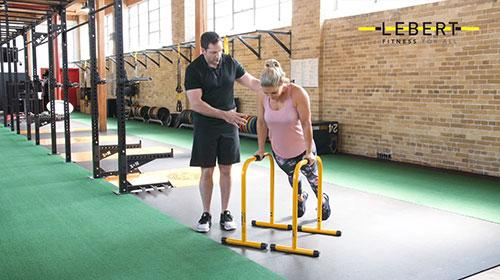 EQualizer Knee Ups with Trainer Insights