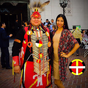 Yendi and Johnny Nieto | Our Indigenous Traditions Clothing Brand
