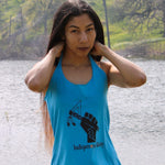 Women's Indigenous Unity Tank Top Tank Top beach, blue, comfortable, Cotton, Fall, Fashion, grey, heather, Indian, Indigenous, indigenous unity, Native, outside, pink, Powwow, racerback, red,