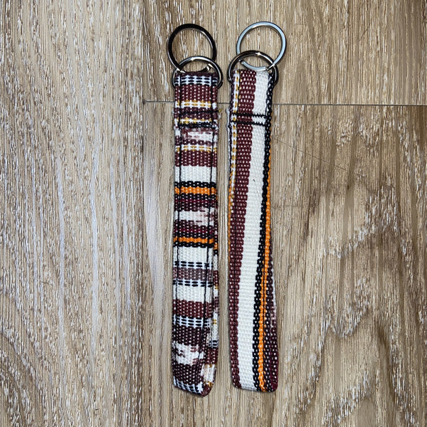Wristlet Keychain- Central America wristlet Cotton, Fashion, Indian, Indigenous, Native, oit, Our, Powwow, Spring, Style, Traditions, tribal, Woman, workout, wristlets - Our Indigenous Tradit