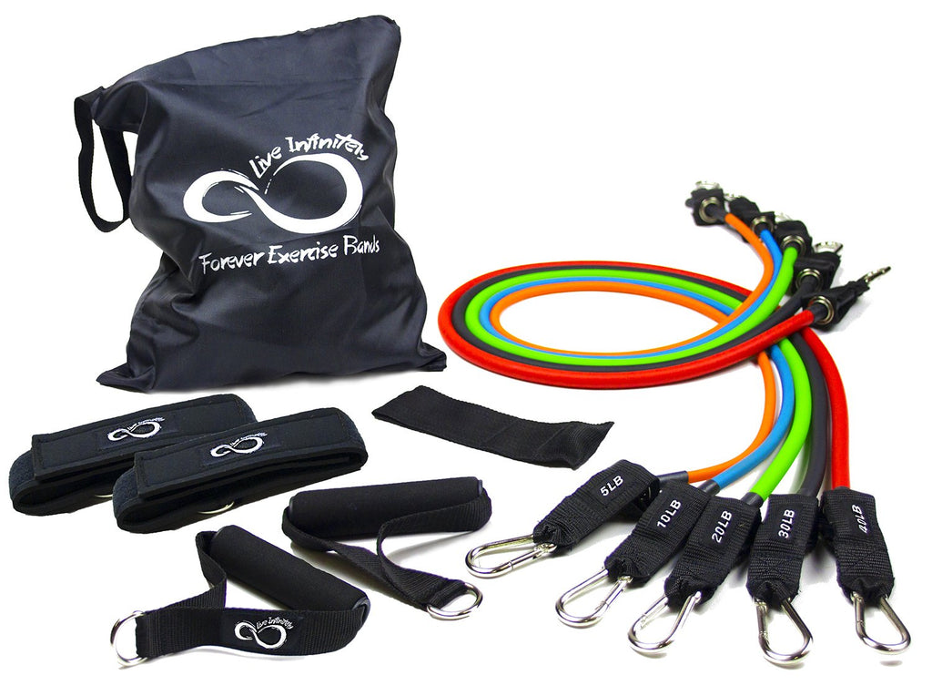 Live Infinitely 11 Piece Resistance Band Set