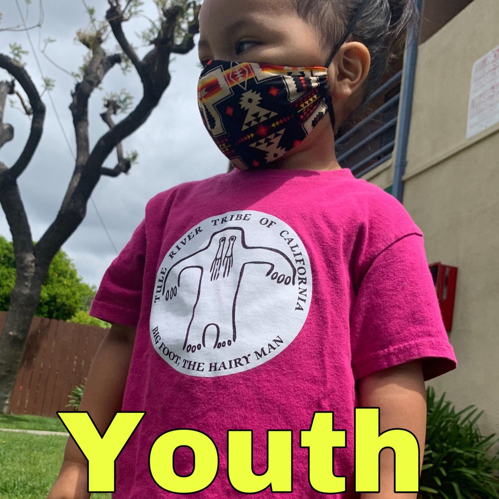 Youth Reusable Face Mask - Our Indigenous Traditions