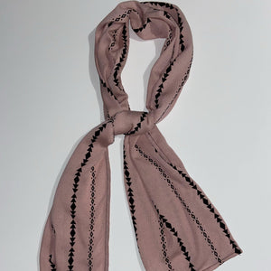 Mini Scarf- Pink Scarf  - Our Indigenous Traditions Clothing Brand