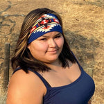 Navy Blue Headband - Our Indigenous Traditions