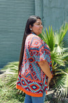 Sun-Rise Throwover Cardigan clothing line, comfortable, Cotton, fabric, Fall, Fashion, handcrafted, Indian, Indigenous, Native, native american, oit, Our, Powwow, Spring, Style, top, Traditio