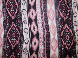 Pink and Black Regular Scarf Scarf  - Our Indigenous Traditions Clothing Brand
