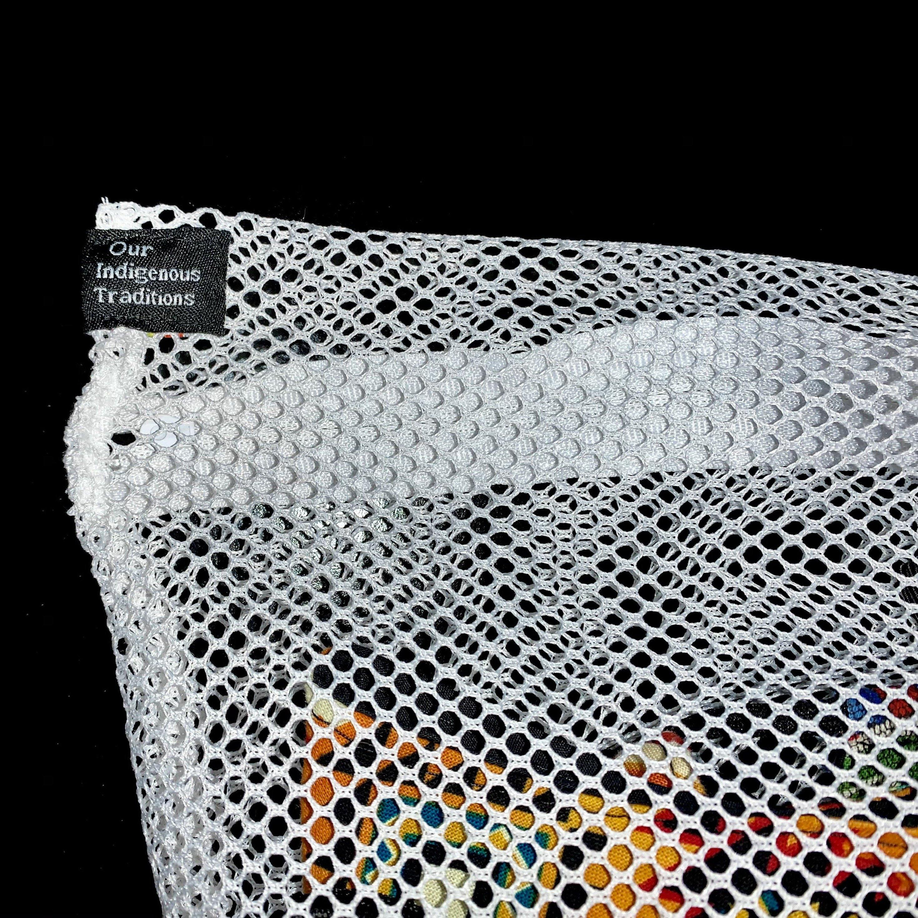 Mesh Laundry Bag bag accessories, accessory, bag, business, clothing, clothing line, fit, home, lightweight, logo, native american, New Arrival, oitclothing, outwear, polyester, popular - Our