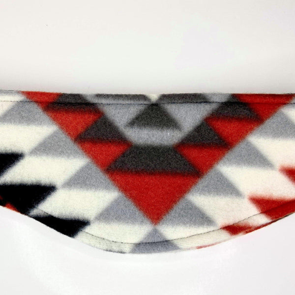Reversible Ear Warmers Headband clothing, cold, fleece, head, headband, headgear, indigenous, OIT, oitclothing, our, traditions, winter - Our Indigenous Traditions Clothing Brand