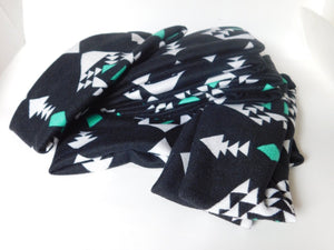 Black/Turquoise Headband Headband accessories, accessory, america, American Indian, baby, baby headband, beach, black, blue, Cardigan, comfort, comfortable, Cotton, fabric, Fall, Fashion, fav