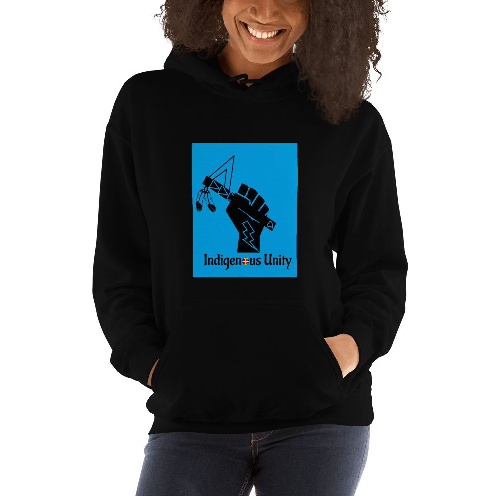 Indigenous Unity Hooded Sweatshirt (Gender Neutral)