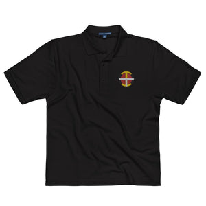 Men's OIT Embroidered Premium Polo polo indigenous, native, Oit, Our, traditions - Our Indigenous Traditions Clothing Brand
