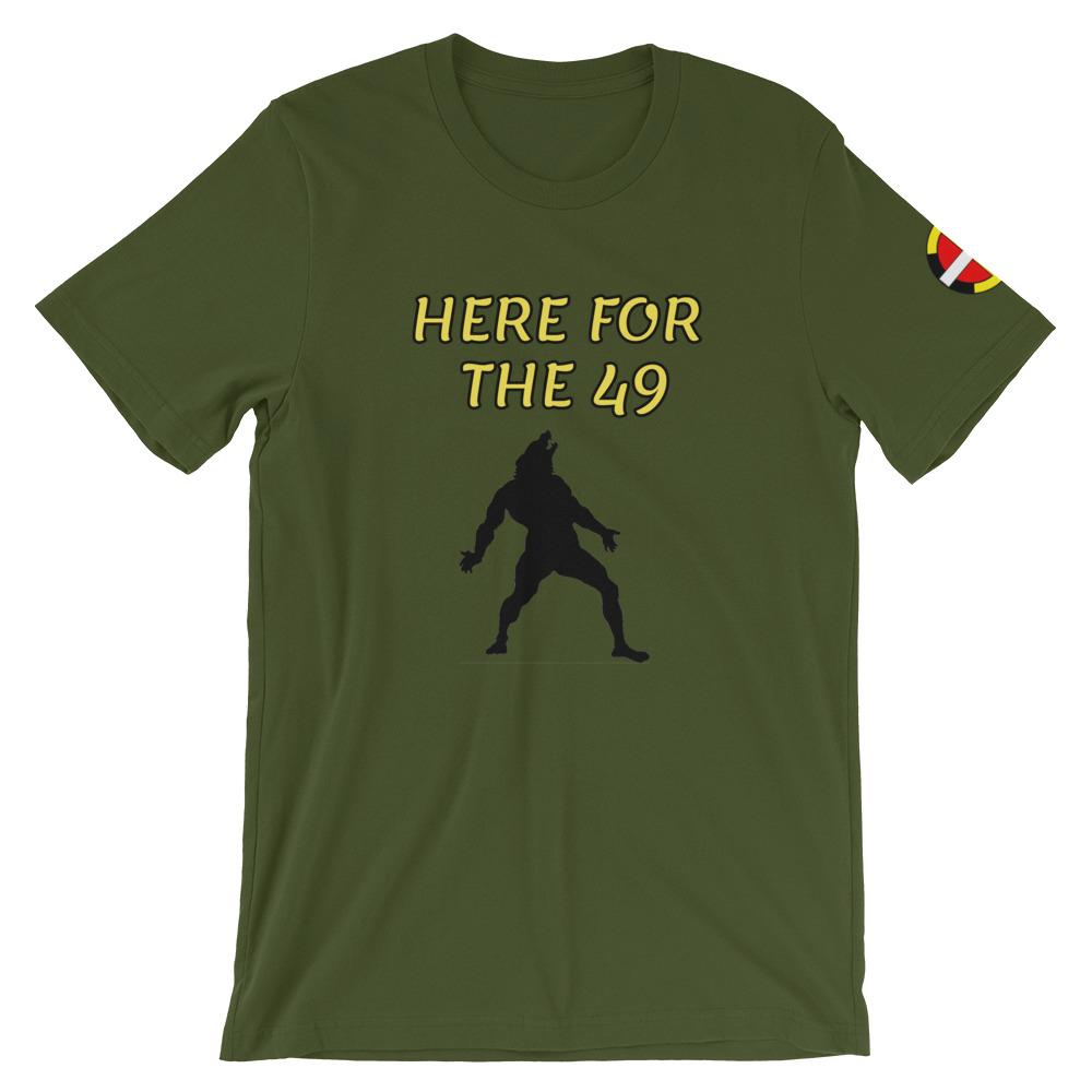 """Here For The 49"" Tee"