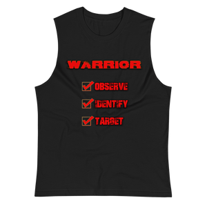"""Observe, Identify, Target"" Warrior Tank - Our Indigenous Traditions"
