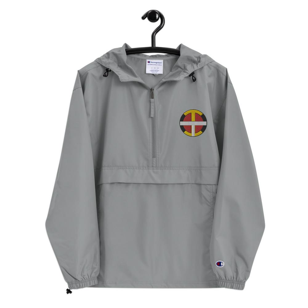 OIT Embroidered Champion Packable Jacket