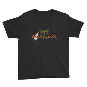 Youth OIT Warrior Tee Youth OIT Warrior accessories, american, black, clothing, comfort, comfortable, cotton, fabric, Fall, Fashion, fit, fitness, gear, hand wash, indian, Indigenous, indigen