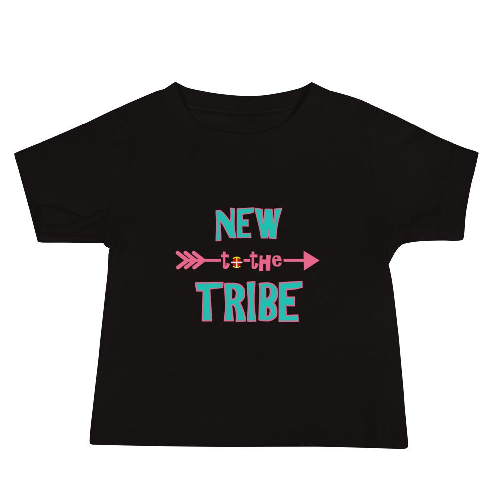 """New to the Tribe"" Baby Short Sleeve Tee"
