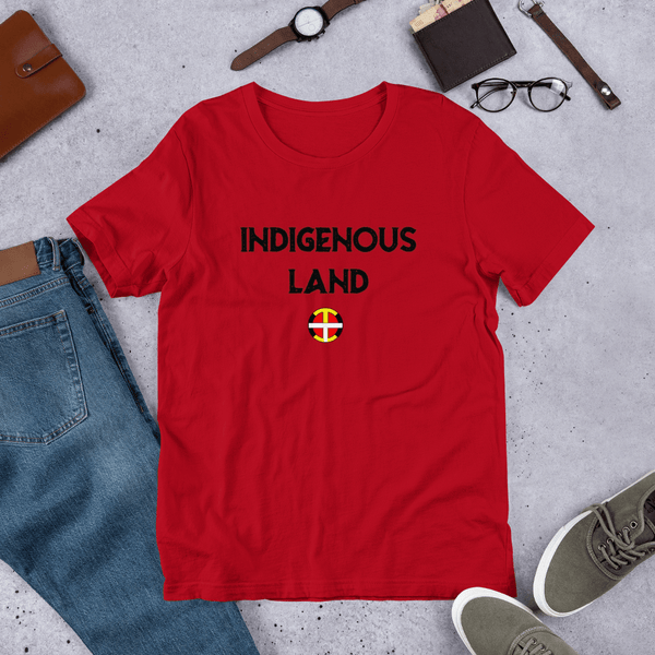 Indigenous Land Tee (B Print) Indigenous Land Tee (Gender Neutral) accessories, america, black, comfort, comfortable, Cotton, fabric, Fall, Fashion, fit, gear, girls, hand wash, Indian, Indig