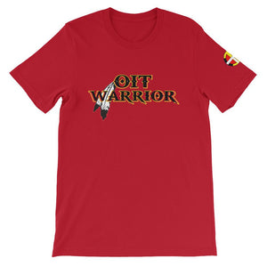 OIT Warrior Tee (Gender Neutral) OIT Warrior Tee accessories, accessory, america, black, blue, canada, Cardigan, comfort, comfortable, Cotton, fabric, Fall, Fashion, fit, fitness, gear, girls