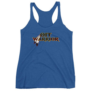 Women's OIT Warrior Racerback Tank Tank Top america, Fashion, gym, Indian, Indigenous, Native, native american, oit, oitclothing, Our, Powwow, tradition, Traditions, training, warrior - Our I