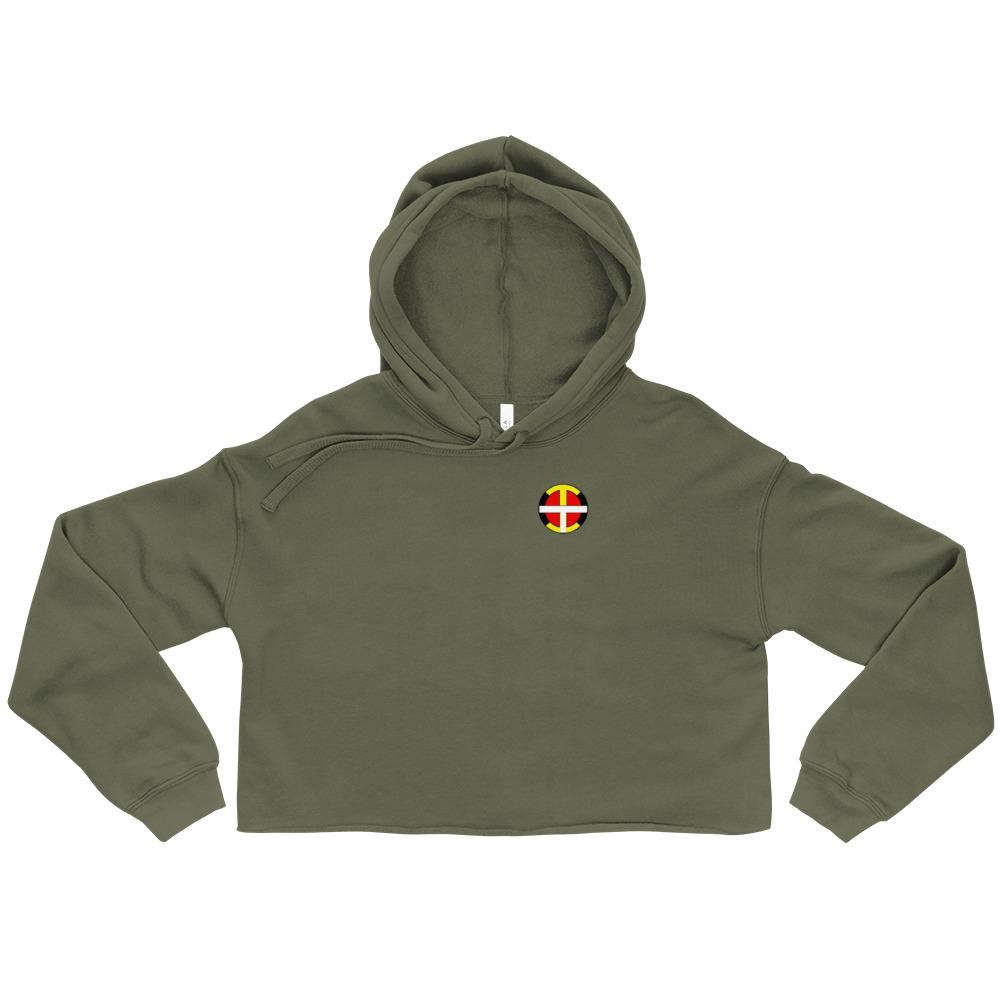 Women's OIT Crop Hoodie - Our Indigenous Traditions