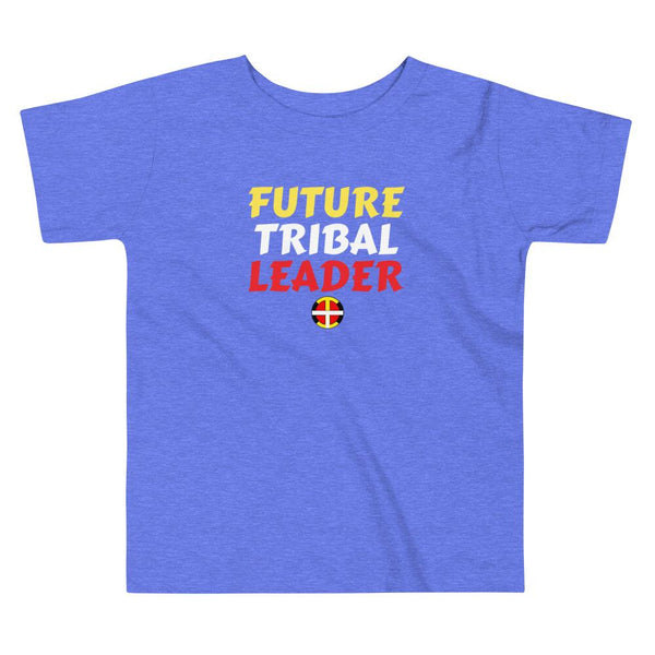 """Future Tribal Leader"" Toddler Tee Kids & Babies childrens, clothing, indigenous, kids, leader, native, oit, spring, toddler, tribe - Our Indigenous Traditions Clothing Brand"