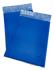 #2 8.5x12 Blue Poly Bubble Padded Envelopes Mailers Shipping Case
