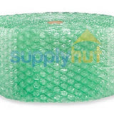 "Recycled Bubble Roll Shipping 1/2"" x 12"" Wide Large Bubbles"