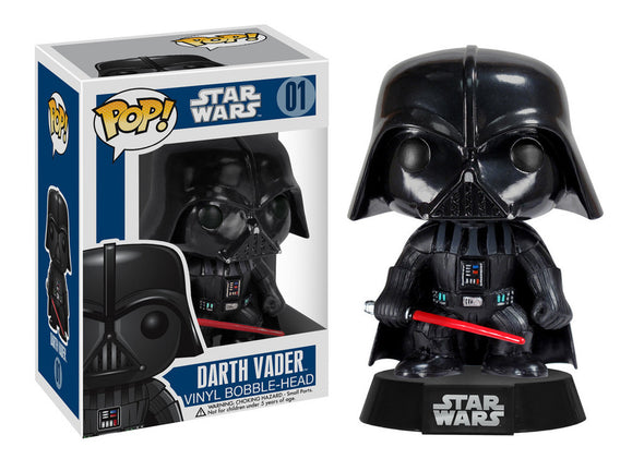 Star Wars Darth Vader Pop Vinyl Bobble Head Figure