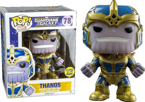 "Guardians of the Galaxy - Thanos Glow-In-The-Dark 6"" Exclusive Pop! Vinyl Figure"
