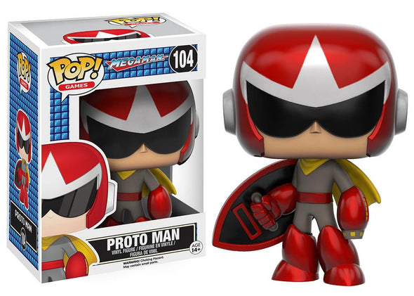 Mega Man Series - Proto Man Pop! Vinyl Figure