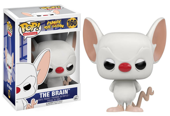 Pinky and The Brain - The Brain POP! Vinyl Figure