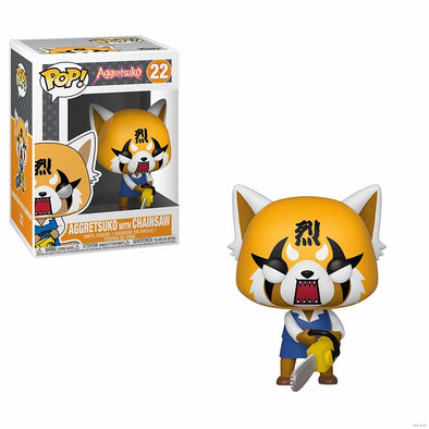 Aggretsuko - Retsuko w/ Chainsaw  Pop! Vinyl Figure
