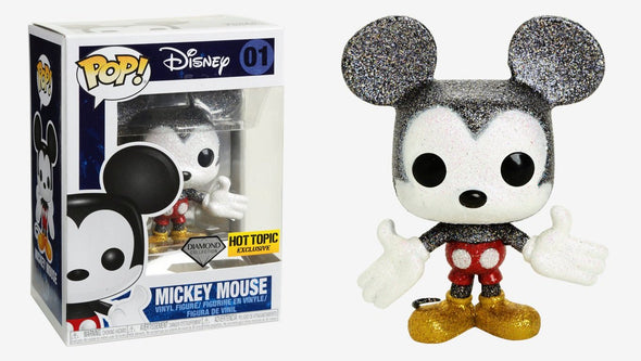 Disney - Mickey Mouse (Diamond Collection) Exclusive Pop! Vinyl Figure