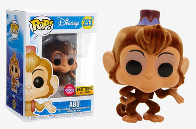 Disney - Aladdin Abu Flocked Exclusive Pop! Vinyl Figure