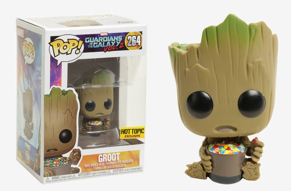 Guardians of the Galaxy Volume 2 - Groot (with Candies) Exclusive Pop! Vinyl Figure