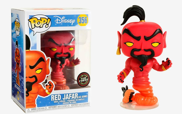 Disney Aladdin - Red Jafar Chase Pop! Vinyl Figure