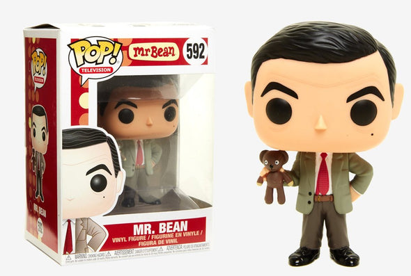 Mr. Bean - Mr. Bean (with Teddy) POP! Vinyl Figure