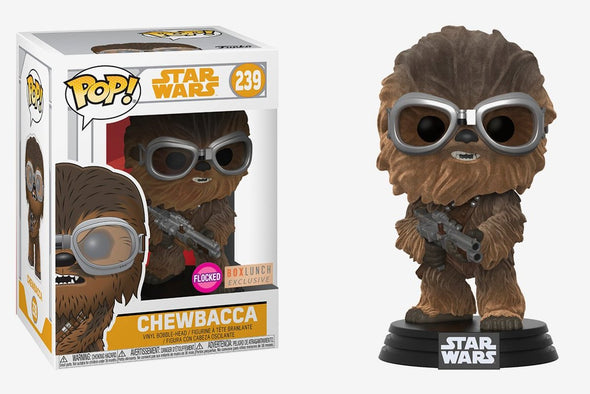 Star Wars: Solo - Flocked Chewbacca Exclusive Pop Vinyl Bobble Head