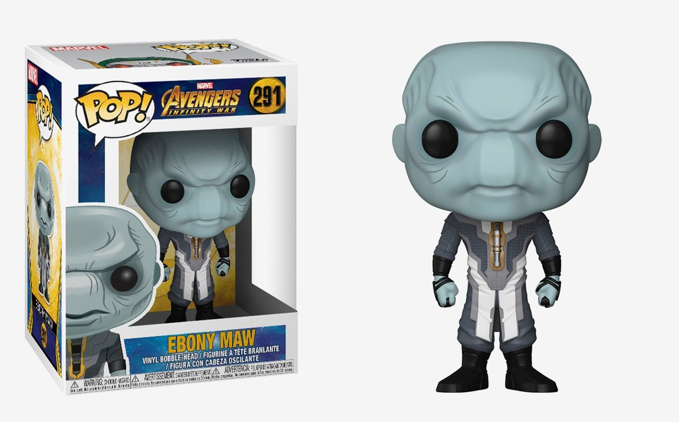 Funko Pop Vinyl Tagged Guardians Of The Galaxy Bk Collectables Rocket Raccoon Super Deluxe Figure Avengers Infinity War Ebony Maw