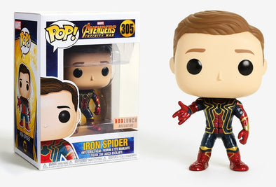 Avengers Infinity War - Unmasked Iron Spider Exclusive Pop! Vinyl Figure